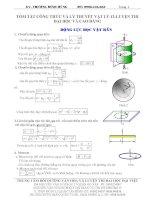 Tổng hợp công thức và lý thuyết vật lý 12 ôn thi đại học