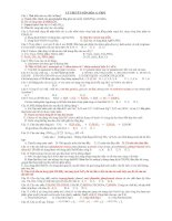 Tài liệu Ôn thi tốt nghiệp và Đại học môn Hóa 12 Phần 2