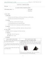 GIÁO ÁN HÌNH HỌC CƠ BẢN 12  CHUẨN NHẤT (File word tải về sẽ không bị lỗi font Mathtype)