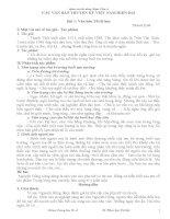 BỒI DƯỠNG HỌC SINH GIỎI VĂN LỚP 8 CÁC VĂN BẢN TRUYỆN KÝ VIỆT NAM HIỆN ĐẠI