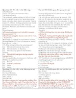 Giải thích ECONOMY 2 - Part 7  TEST 2