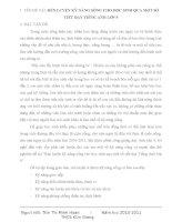 SKKN RÈN LUYỆN KỸ NĂNG SỐNG CHO HỌC SINH QUA MỘT SỐ TIẾT DẠY TIẾNG ANH LỚP 9
