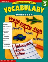scholastic success with vocabulary grade 5