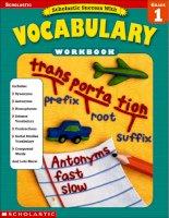 scholastic success with vocabulary grade 1