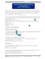 bài tập tự luyện và đáp án về phần luyện tập và chữa đề đảo ngữ của cô vũ thị mai phương