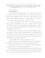 SKKN ĐỔI MỚI CÁCH THỨC TỔ CHỨC  ÔN TẬP MÔN NGỮ VĂN CHO HỌC SINH KHỐI LỚP 12