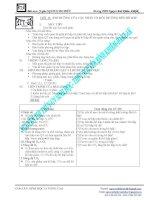 Giáo án Sinh 11 nâng cao -  ẢNH HƯỞNG CỦA CÁC NHÂN TỐMÔI TRƯỜNG ĐẾN HÔ HẤP