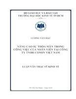 NÂNG CAO SỰ THỎA MÃN TRONG CÔNG VIỆC CỦA NHÂN VIÊN TẠI CÔNG TY TNHH COMIN VIỆT NAM.PDF