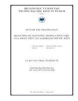 ĐO LƯỜNG SỰ HÀI LÒNG TRONG CÔNG VIỆC CỦA NHÂN VIÊN TẠI ARGRIBANK PHƯỚC KIỂN.PDF