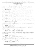 Bài tập hình học giải tích 12
