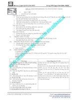Giáo án Sinh học 11 - Tiết 5 - TRAO ĐỔI KHOÁNG VÀ NITƠ Ở THỰC VẬT(tt)
