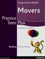 Movers practice tests plus