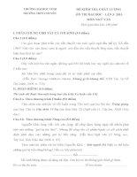 Đề thi thử Đại học môn Ngữ Văn - THPT Chuyên ĐH Vinh (NGHỆ AN)-2013