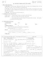 Giáo án đại số 8 - Học kỳ II - Tuần 23