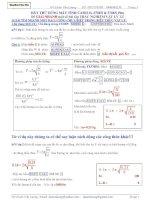 Phương pháp giải nhanh vật lý bằng máy tính casio FX570