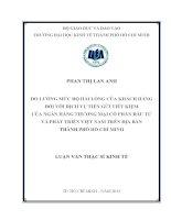 ĐO LƯỜNG MỨC ĐỘ HÀI LÒNG CỦA KHÁCH HÀNG ĐỐI VỚI DỊCH VỤ TIỀN GỬI TIẾT KIỆM CỦA NGÂN HÀNG TMCP ĐẦU TƯ VÀ PHÁT TRIỂN VIỆT NAM TRÊN ĐỊA BÀN TPHCM.PDF