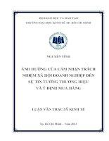 ẢNH HƯỞNG CỦA CẢM NHẬN TRÁCH NHIỆM XÃ HỘI DOANH NGHIỆP ĐẾN SỰ TIN TƯỞNG THƯƠNG HIỆU VÀ Ý ĐỊNH MUA HÀNG.PDF