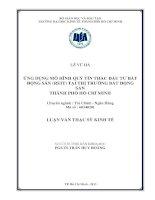 ỨNG DỤNG MÔ HÌNH QUỸ TÍN THÁC ĐẦU TƯ BẤT ĐỘNG SẢN (REIT) TẠI THỊ TRƯỜNG BẤT ĐỘNG SẢN TPHCM.PDF