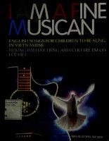 Bài hát tiếng Anh cho trẻ em  I am a fine musican