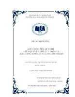 KIỂM ĐỊNH MỐI QUAN HỆ GIỮA QUẢN LÝ VỐN LƯU ĐỘNG VÀ KHẢ NĂNG SINH LỢI CỦA DOANH NGHIỆP.PDF