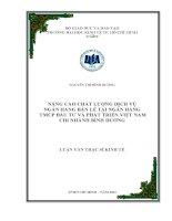 NÂNG CAO CHẤT LƯỢNG DỊCH VỤ NGÂN HÀNG BÁN LẺ TẠI NGÂN HÀNG TMCP ĐẦU TƯ VÀ PHÁT TRIỂN VIỆT NAM CHI NHÁNH BÌNH DƯƠNG.PDF