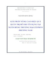 GIẢI PHÁP NÂNG CAO HIỆU QUẢ QUẢN TRỊ RỦI RO TÍN DỤNG TẠI NGÂN HÀNG TMCP PHƯƠNG NAM.PDF