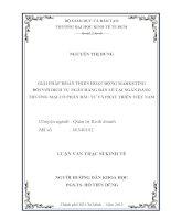 GIẢI PHÁP HOÀN THIỆN HOẠT ĐỘNG MARKETING ĐỐI VỚI DỊCH VỤ NGÂN HÀNG BÁN LẺ TẠI NGÂN HÀNG THƯƠNG MẠI CỔ PHẦN ĐẦU TƯ VÀ PHÁT TRIỂN VIỆT NAM.PDF