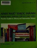Anh ngữ thực hành Khoa học Thông tin và Thư viện