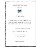 GIẢI PHÁP NÂNG CAO CHẤT LƯỢNG DỊCH VỤ NGÂN HÀNG BÁN LẺ TẠI NGÂN HÀNG TMCP XUẤT NHẬP KHẨU VIỆT NAM - CHI NHÁNH BÌNH PHÚ.PDF