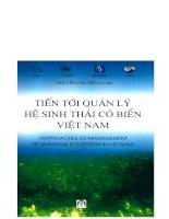 Tiến tới quản lý hệ sinh thái cỏ biển Việt Nam