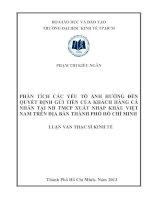 PHÂN TÍCH CÁC YẾU TỐ ẢNH HƯỞNG ĐẾN QUYẾT ĐỊNH GỬI TIỀN CỦA KHÁCH HÀNG CÁ NHÂN TẠI NGÂN HÀNG THƯƠNG MẠI CỔ PHẦN XUẤT NHẬP KHẨU VIỆT NAM TRÊN ĐỊA BÀN THÀNH PHỐ HỒ CHÍ MINH.PDF