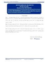 Thể tích khối lăng trụ - Bài tập tự luyện Toán 12 - P1
