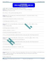 Năng lượng Dao động điều hòa - Tài liệu - Vật lý 12