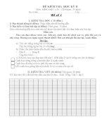 tổng hợp đề thi cuối năm môn tiếng việt học kỳ II lớp 1