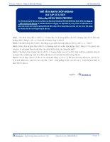 Thể tích khối Chóp -  Bài tập tự luyện Toán 12 - P3