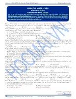 Bài tập về các phản ứng nhiệt luyện - Trắc nghiệm Hóa học 12