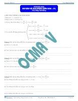 Đại cương về Dao động điều hòa - Tài liệu - Vật lý 12 - P1