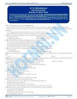 Sự ăn mòn kim loại và các phương pháp bảo vệ - Trắc nghiệm Hóa học 12