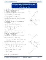 Luyện tập tổng hợp về mạch điện xoay chiều - Tài liệu Vật lý 12 - P1