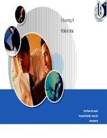 Bài giảng môn quản trị học chương 9   kiểm tra
