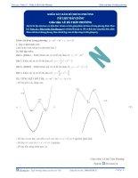 Khảo sát hàm số trùng phương - Tài liệu Toán 12