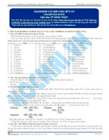 Danh pháp các hợp chất hữu cơ - Tài liệu Hóa học 12
