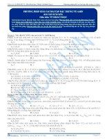 Phương pháp giải các bài tập đặc trưng về Amin - Trắc nghiệm Hóa học 12