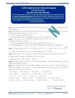 Chứng minh quan hệ vuông góc - Bài tập tự luyện Toán 12 - P2