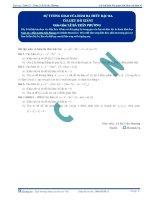 Sự tương giao của hàm phân thức - Tài liệu Toán 12 - P2
