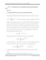 Cảm biến đo lường và xử lý tín hiệu TRÌNH BÀY VỀ CÁC PHÉP BIẾN ĐỔI FOURIER RỜI RẠC