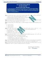 Các vấn đề về Vuông góc - Bài tập tự luyện Toán 12 - P2