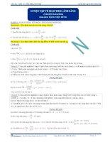Luyện tập về giao thoa ánh sáng - Tài liệu Vật lý 12