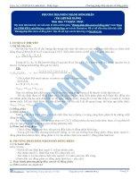 Phương pháp đếm nhanh số đồng phân (Phần 2) - Tài liệu  Hóa học 12