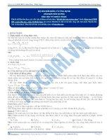 Độ bất bão hòa và ứng dụng - Tài liệu Hóa học 12